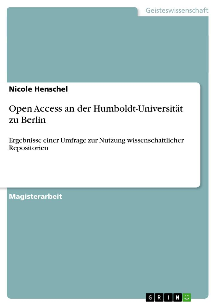 Open Access an der Humboldt-Universität zu Berl...
