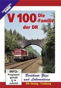 Berühmte Züge und Lokomotiven: Die Baureihe V 100 Familie der DR
