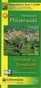 Naturpark Pfälzerwald Blatt 2 Grünstadt und Stumfwald mit Leiningerland