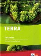 TERRA Erdkunde für Rheinland-Pfalz und Saarland 1. Realschulen und Differenzierende Schularten. Schülerbuch 5./6. Schuljahr mit CD-ROM