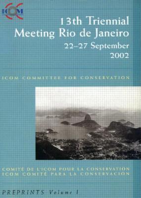 Icom Committee for Conservation 13th Triennial Meeting Rio de Janeiro als Taschenbuch
