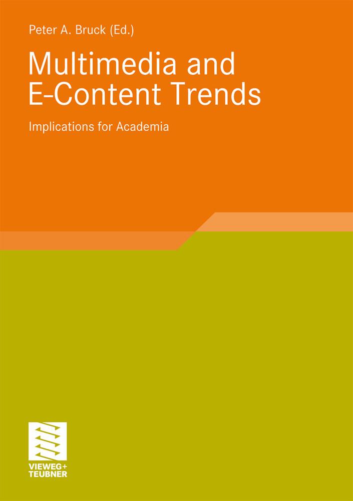 Multimedia and E-Content Trends als Buch von