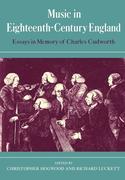 Music in Eighteenth-Century England
