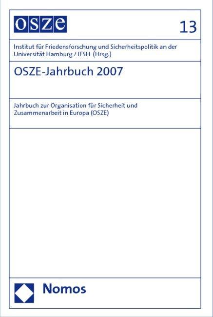 OSZE-Jahrbuch 2007 als Buch von