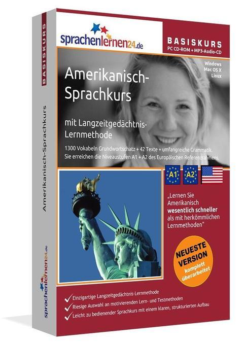 Sprachenlernen24.de Englisch für Amerika-Basis-...