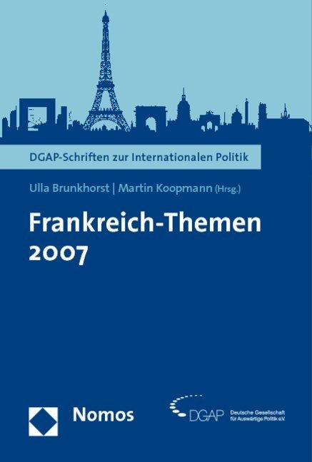 Frankreich-Themen 2007 als Buch von