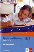 Rechtschreibung. Trainingsheft 5./6. Schuljahr