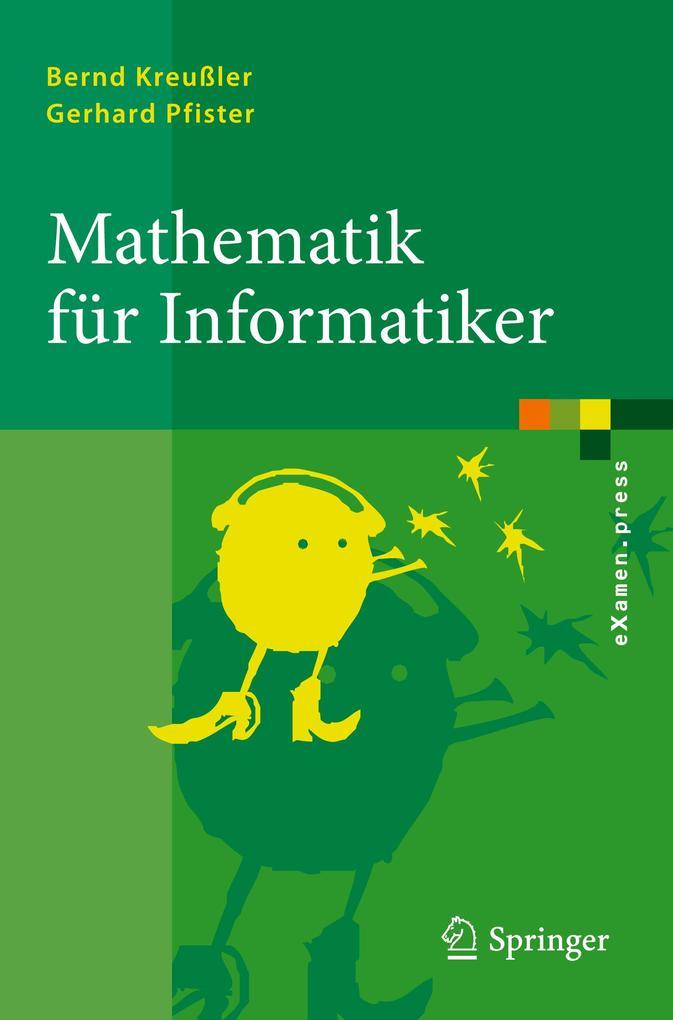 Mathematik für Informatiker als Buch von Bernd ...