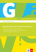 deutsch.training. Arbeitsheft Grammatik und Rechtschreibung 7./8. Klasse