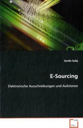 E-Sourcing als Buch von Sonila Sulaj
