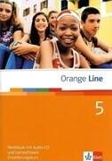 Orange Line. Workbook mit Audio-CD und Lernsoftware Teil 5 (5. Lernjahr). Erweiterungskurs