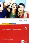 Red Line 4. Fit für Tests und Klassenarbeiten mit CD-ROM