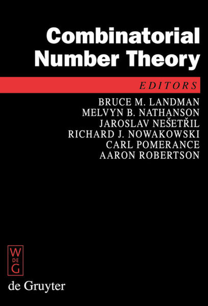 Combinatorial Number Theory als Buch von