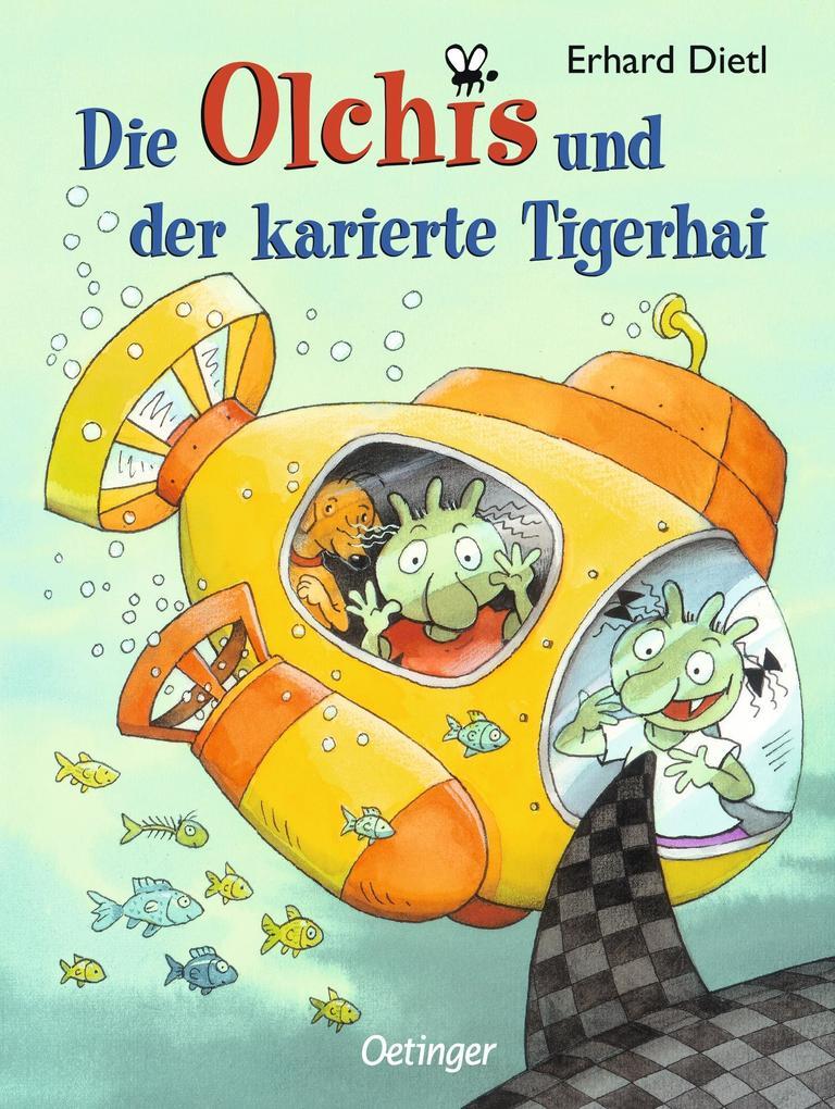 Die Olchis und der karierte Tigerhai als Buch