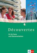 Découvertes 4. Fit für Tests und Klassenarbeiten. Arbeitsheft mit Lösungen und CD-ROM/Audio-CD