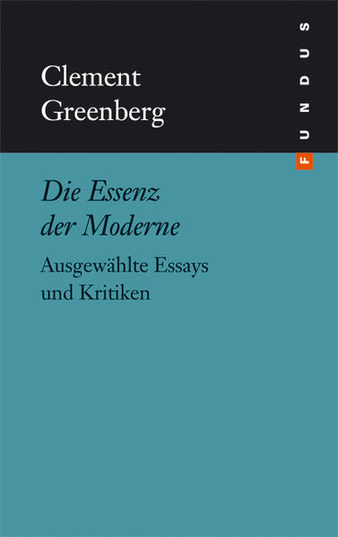 Die Essenz der Moderne als Buch von Clement Gre...