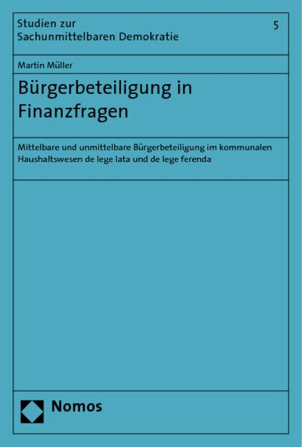 Bürgerbeteiligung in Finanzfragen als Buch von ...