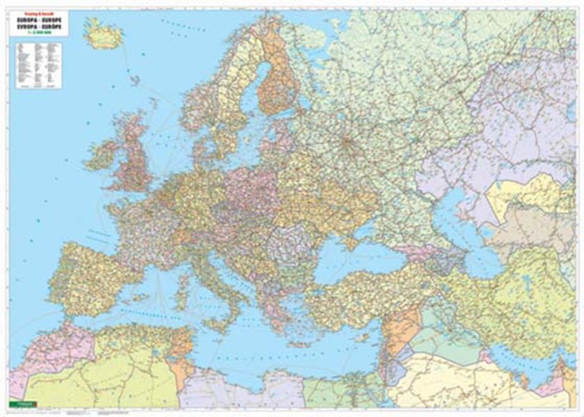 Europa ¿ Naher Osten ¿ Zentralasien politisch, ...