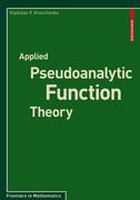 Applied Pseudoanalytic Function Theory