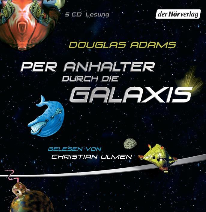 Per Anhalter durch die Galaxis als Hörbuch