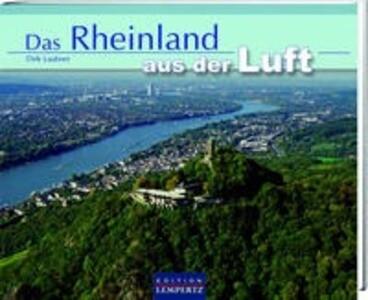 Rheinland aus der Luft als Buch von Dirk Laubner