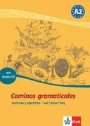 Caminos gramaticales A2. Heft und Audio-CD mit Lösungen
