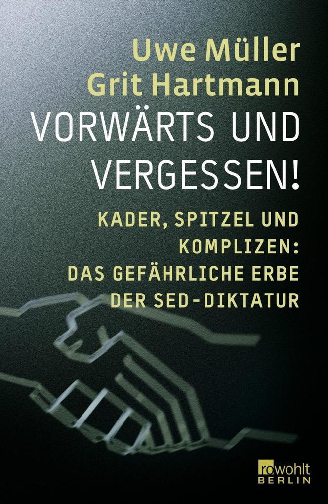 Vorwärts und Vergessen als Buch von Grit Hartma...