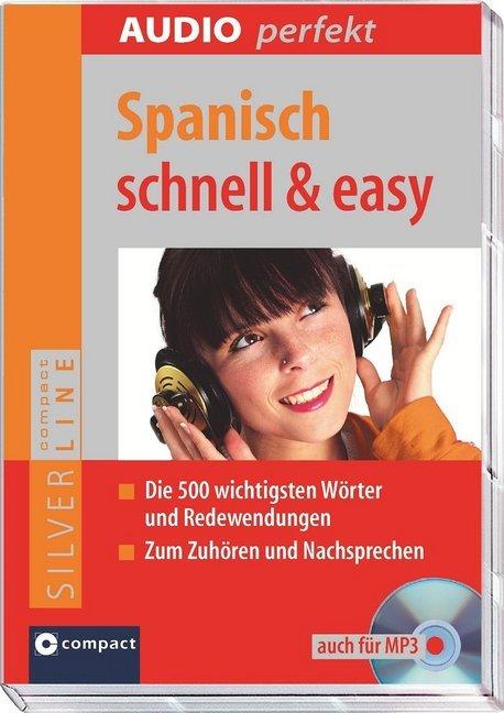 Vokabeltrainer Spanisch schnell & easy als Hörb...