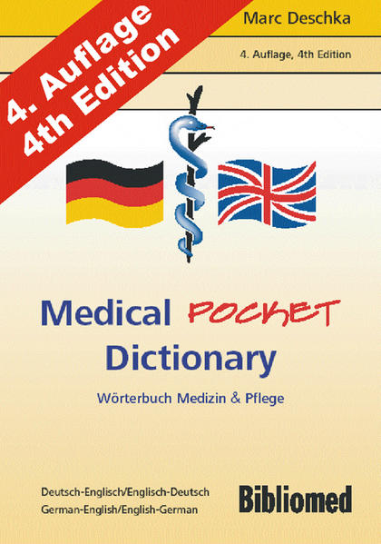 Medical Pocket Dictionary. Wörterbuch Medizin u...