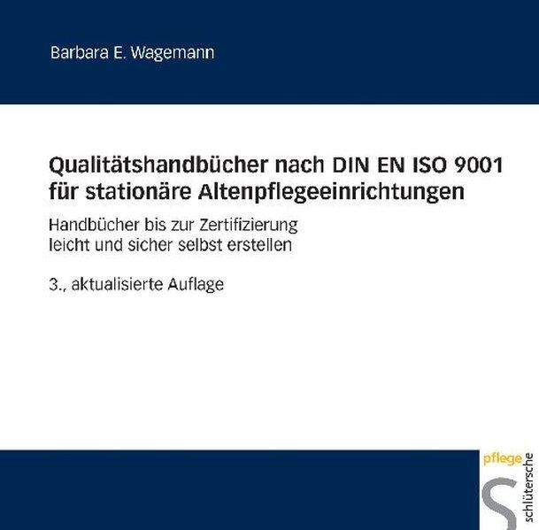 Qualitätshandbücher nach DIN EN ISO 9001 für st...