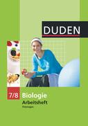 Arbeitsheft Biologie 7/8. Thüringen