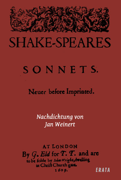 Shakespeare gedichte deutsch