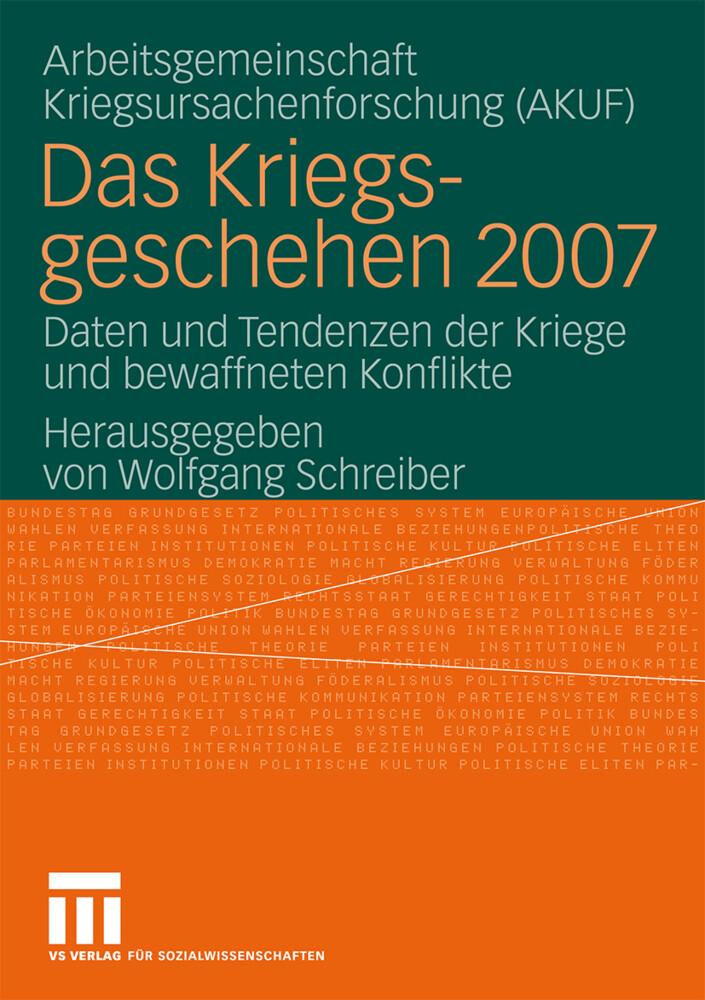 Das Kriegsgeschehen 2007 als Buch von