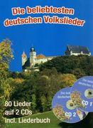 Die beliebtesten deutschen Volkslieder (A5 mit CDs)