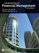 Van Horne:Fundamentals of Financial Management