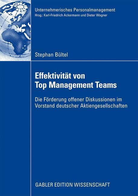 Effektivität von Top Management Teams als Buch ...