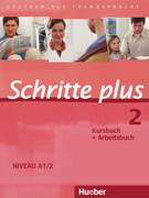Schritte plus 2. Niveau A1/2. Kursbuch + Arbeitsbuch