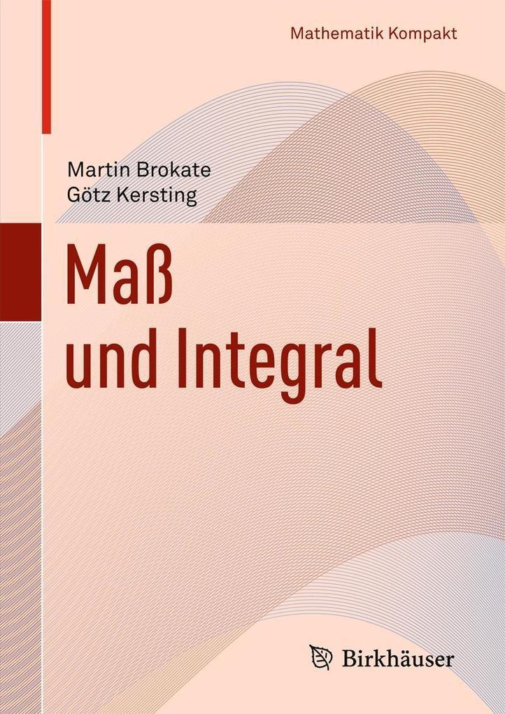 Maß und Integral als Buch