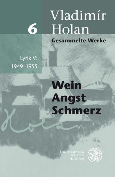 Lyrik V: 1949-1955 als Buch