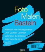 Foto-Malen-Basteln schwarz. Immerwährendes Kalendarium