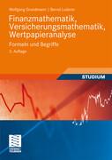 Finanzmathematik, Versicherungsmathematik, Wertpapieranalyse