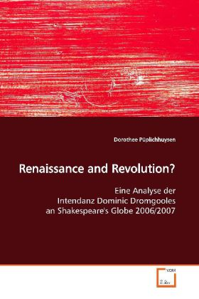 Renaissance and Revolution? als Buch von Doroth...