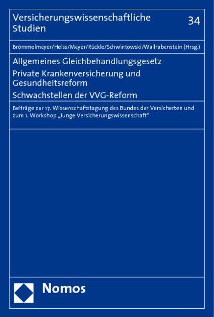 Allgemeines Gleichbehandlungsgesetz. Private Kr...