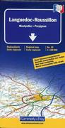 KuF Frankreich Regionalkarte 10 Languedoc / Roussillon 1 : 180 000