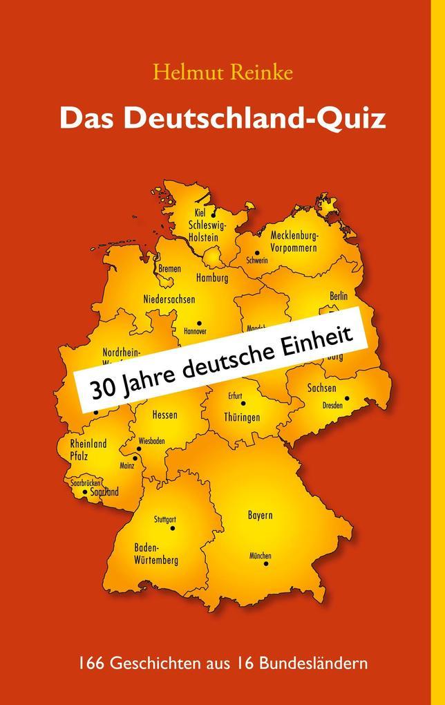 Das Deutschland-Quiz als Buch von Helmut Reinke