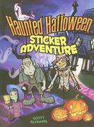 Haunted Halloween Sticker Adventure [With Sticker(s)]