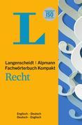 Langenscheidt Fachwörterbuch Kompakt Recht Englisch
