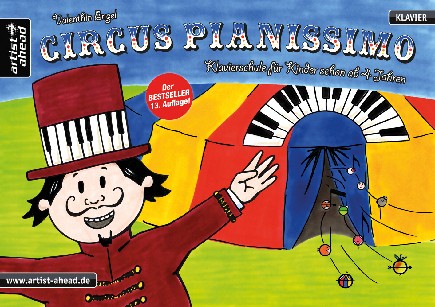 Circus Pianissimo als Buch