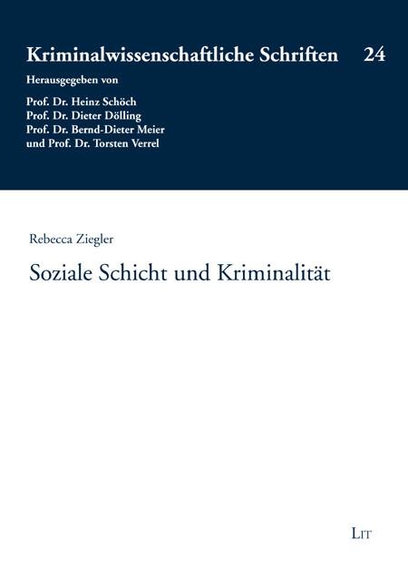 Soziale Schicht und Kriminalität als Buch von R...