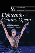 The Cambridge Companion to Eighteenth-Century Opera